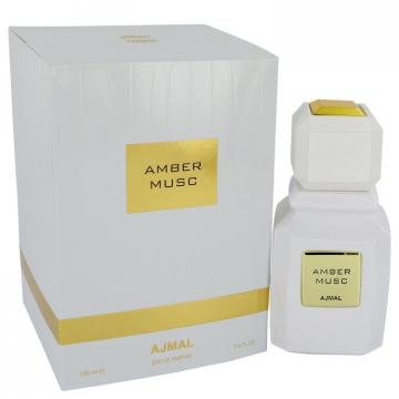 Image of Ajmal Amber Musc by Ajmal Eau de Parfum Spray (Unisex) 100 ml