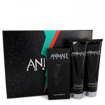 Image of ANIMALE by Animale Gift Set -- 3.3 oz Eau de Toilette Spray + 3.4 oz After Shave Balm + 3.4 oz Body Wash