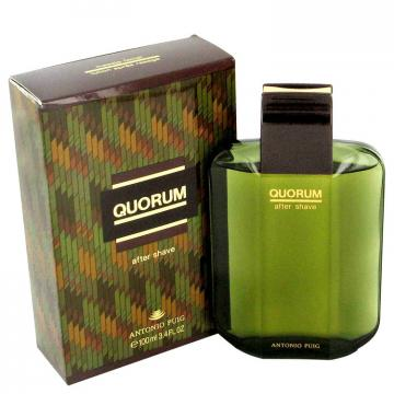 Image of QUORUM by Antonio Puig After Shave 100 ml