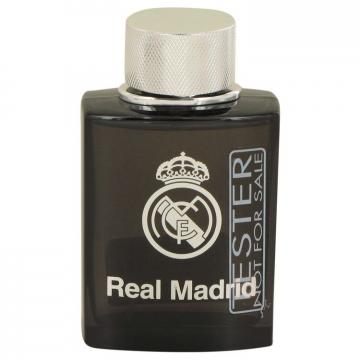Image of Real Madrid Black by Air Val International Eau de Toilette Spray (Tester) 100 ml
