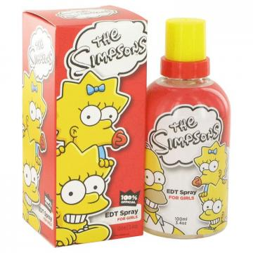 Image of The Simpsons by Air Val International Eau de Toilette Spray 100 ml